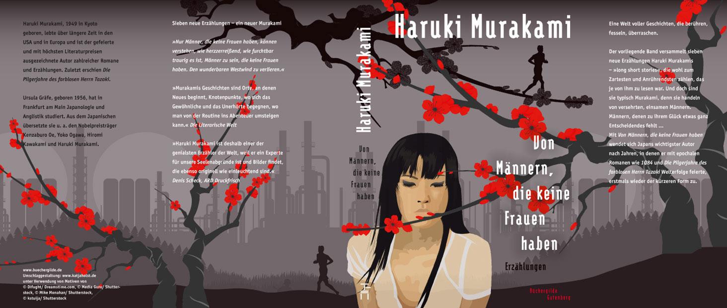 Haruki Murakami: Von Männern, die keine Frauen haben, Umschlag